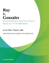 Ray V. Gonzales