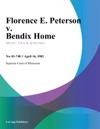 Florence E Peterson V Bendix Home