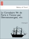 Le Circulaire 94 De Paris A Vienne Par Oberammergau Etc