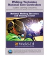 Welding Technician National Core Curriculum