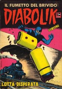 Diabolik #15 Book Cover
