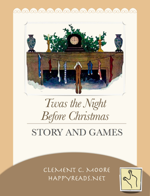 Twas the Night Before Christmas - Clement C. Moore & HappyReads.net book