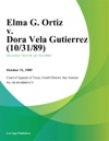 Elma G Ortiz V Dora Vela Gutierrez