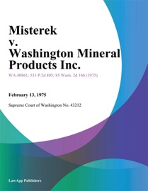 Misterek V Washington Mineral Products Inc