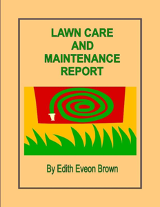 Lawn Care And Maintenance Report Book Review