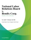 National Labor Relations Board V Bendix Corp