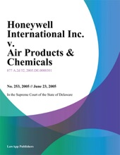Honeywell International Inc. v. Air Products & Chemicals