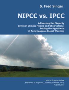 NIPCC vs. IPCC Couverture de livre