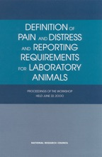 Definition Of Pain And Distress And Reporting Requirements For Laboratory Animals