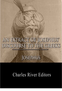 An Extract Out Of Josephus's Discourse To The Greeks