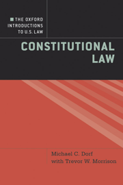 The Oxford Introductions to U.S. Law