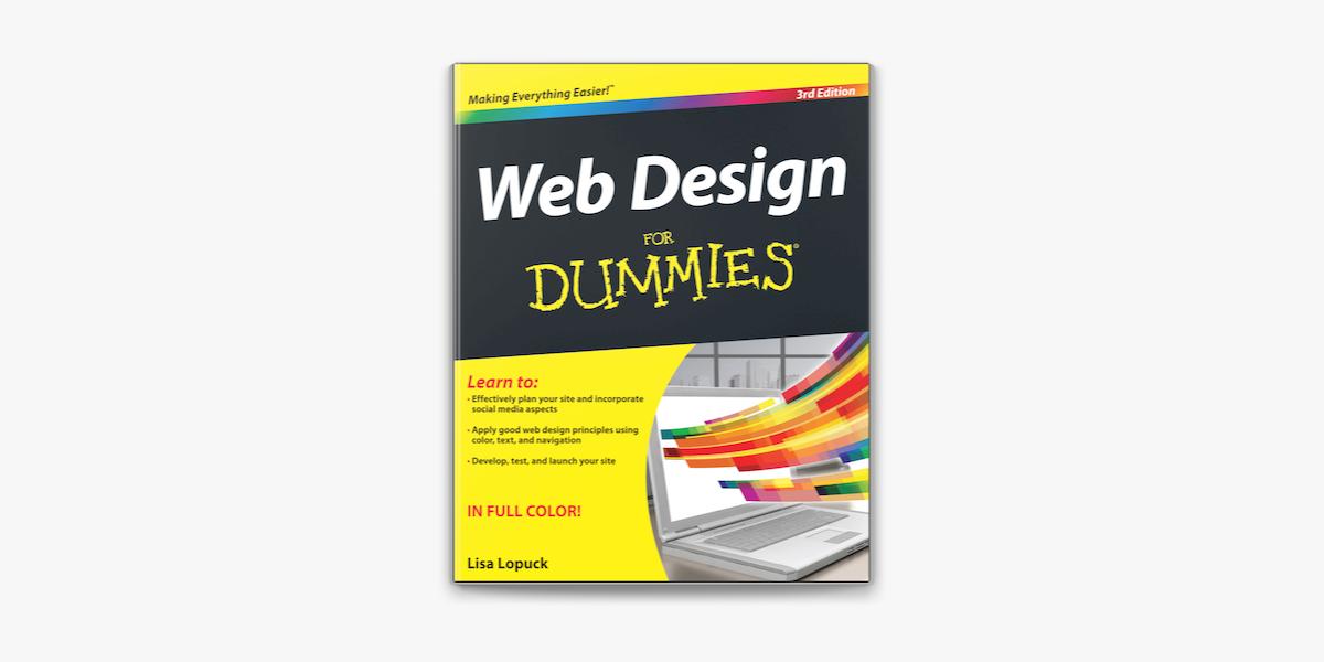 Web Design For Dummies On Apple Books