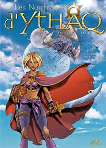 Les Naufragés d'Ythaq T03 La couverture du livre martien