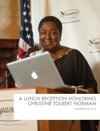 A Lunch Reception Honoring Christine Tolbert Norman