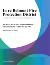 In Re Belmont Fire Protection District