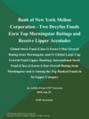 Bank Of New York Mellon Corporation - Two Dreyfus Funds Earn Top Morningstar Ratings And Receive Lipper Accolades Global Stock Fund Class I Earns 5-Star Overall Rating From Morningstar And 1 Global Large Cap Growth Fund Lipper Ranking International Stock Fund Class I Earns 5-Star Overall Rating From Morningstar And Is Among The Top Ranked Funds In Its Lipper Category