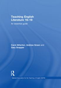 Teaching English Literature 16–19 Libro Cover