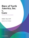 Bmw Of North America Inc V Gore