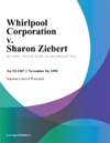Whirlpool Corporation V Sharon Ziebert