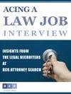 Acing A Law Job Interview