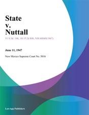 Download State V. Nuttall