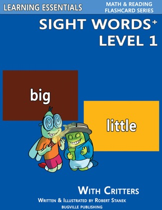 Sight Words Plus Level 1: Sight Words Flash Cards with Critters for Pre-Kindergarten & Up image