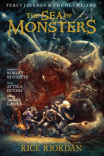 Rick Riordan & Robert Venditti - Percy Jackson and the Olympians:  The Sea of Monsters: The Graphic Novel