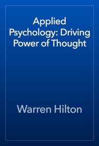 Applied Psychology: Driving Power of Thought Book Review