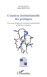 L'ANALYSE INSITUTIONNELLE DES PRATIQUES