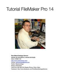 Tutorial FileMaker  Pro 14 - Pere Manel Verdugo Zamora