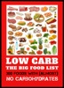 Low Carb - The Big Food List - 300 Foods With (almost) No Carbohydrates