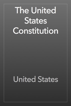 The United States Constitution book cover