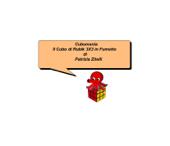 Il Cubo di Rubik 3x3 in fumetto Book Cover
