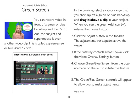 iMovie for Mac in the Classroom on Apple Books