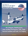 The History Of The XV-15 Tilt Rotor Research Aircraft From Concept To Flight - XV-3 Program Stability Issues Army And Navy Participation VTOL Flight Research Incidents And Crash V-22 Osprey
