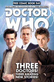 Doctor Who: Free Comic Book Day book