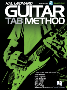 Hal Leonard Guitar Tab Method - Book 3 Libro Cover