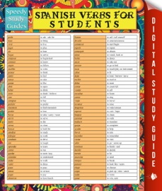 Spanish Verbs For Students Speedy Study Guide