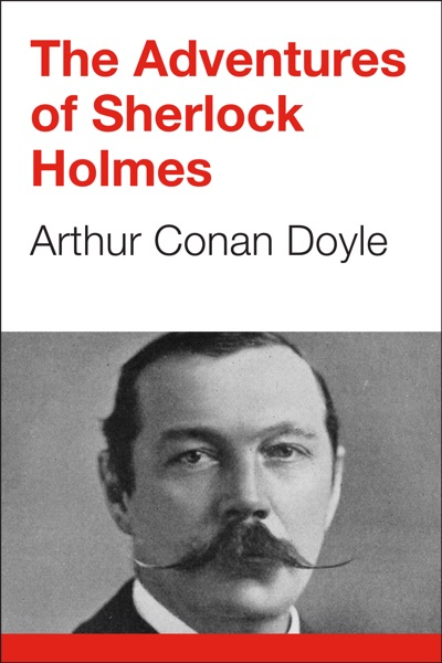 The Adventures of Sherlock Holmes - Arthur Conan Doyle book cover