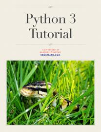 Python 3 Tutorial book