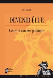 本のDevenir élue - Genre et carrière politiqueの表紙