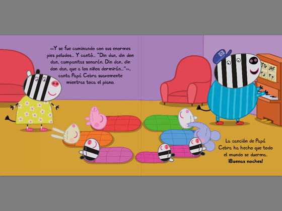 Fiesta de pijamas (Peppa Pig. Primeras lecturas) en Apple