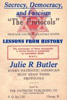 Julie R Butler - Secrecy, Democracy, and Fascism: Lessons from History grafismos