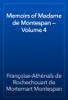 Françoise-Athénaïs de Rochechouart de Mortemart Montespan - Memoirs of Madame de Montespan — Volume 4 artwork