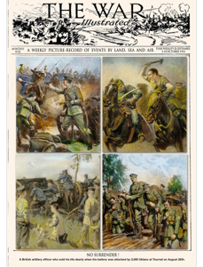 The Great War Illustrated N.2 Copertina del libro