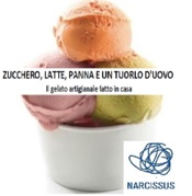 ZUCCHERO, LATTE, PANNA E UN TUORLO D'UOVO. Il gelato artigianale fatto in casa.