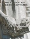 John Calvins Commentaries On St Pauls First Epistle To The Corinthians Vol 2