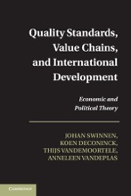 Quality Standards, Value Chains, And International Development