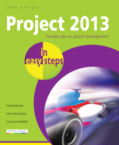 Project 2013 in easy steps La couverture du livre martien