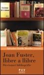 Joan Fuster Llibre A Llibre